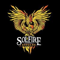SolFire Gardens Logo with phoenix graphic