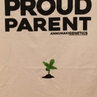 proud parent cannabis tshirt