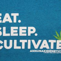 eat sleep cultivate cannabis shirt