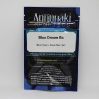 Blue Dream Bx seed packaging