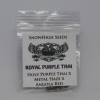 Rare royal purple thai weed seeds