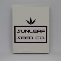 Sun Leaf cannabis seed packaging