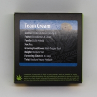 Team Cream Exotic Genetix seeds