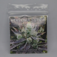 heavenly sativa cannabis seed pack