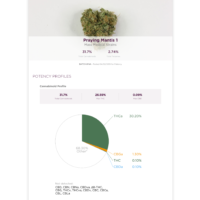 mass medical strains potency test score