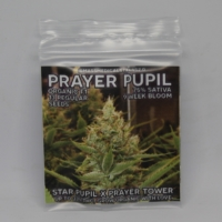 prayer pupil cannabis seed packet