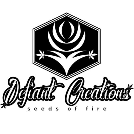 Defiant Creations cannabis seeds brand logo