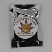 grams skunk marijuana seed packaging