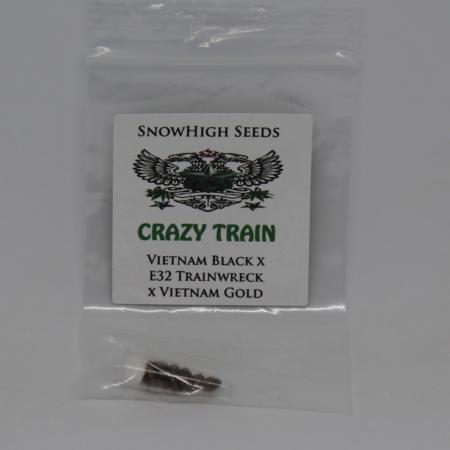 Crazy Train cannabis hybrid