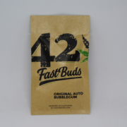 bubblegum fast buds ruderalis cannabis seeds