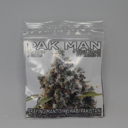 pak man feminized cannabis seeds mass medical strains
